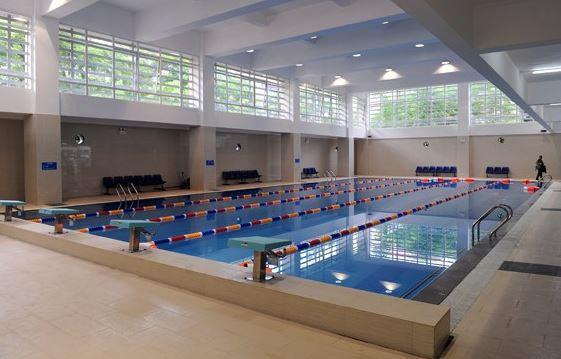Thi công hồ bơi trường học mầm non, trường tiểu học chất lượng